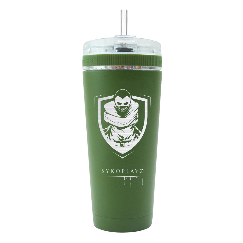 SykoPlayz - Custom 26oz Flex Ice Shaker