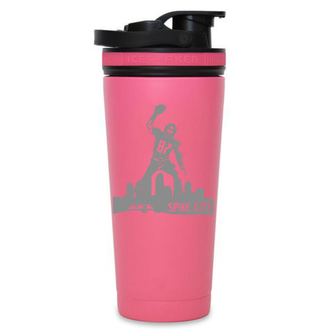 Spike City Skyline - 26oz Ice Shaker Bottle