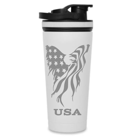 USA Eagle - Custom 26oz Ice Shaker Bottle