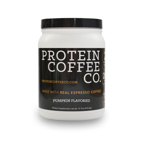 Protein Coffee Co - Pumpkin Spice (20g of Protein & Two Shots of Espresso)
