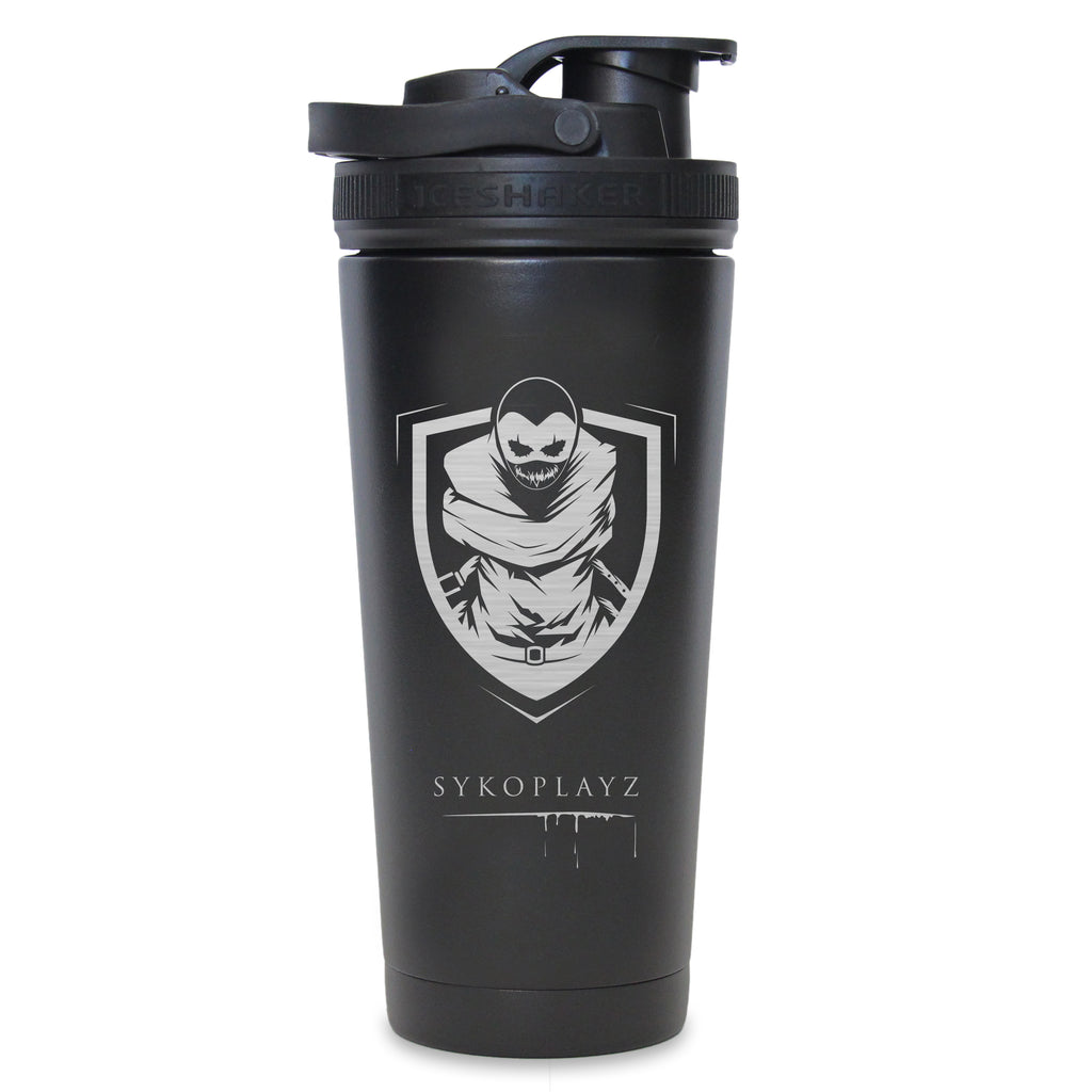 SykoPlayz - Custom 26oz Ice Shaker