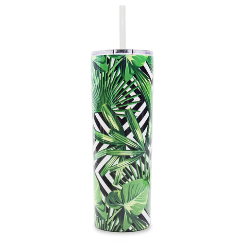 20 oz Skinny Insulated Tumblers - Ice Shaker™ Stainless