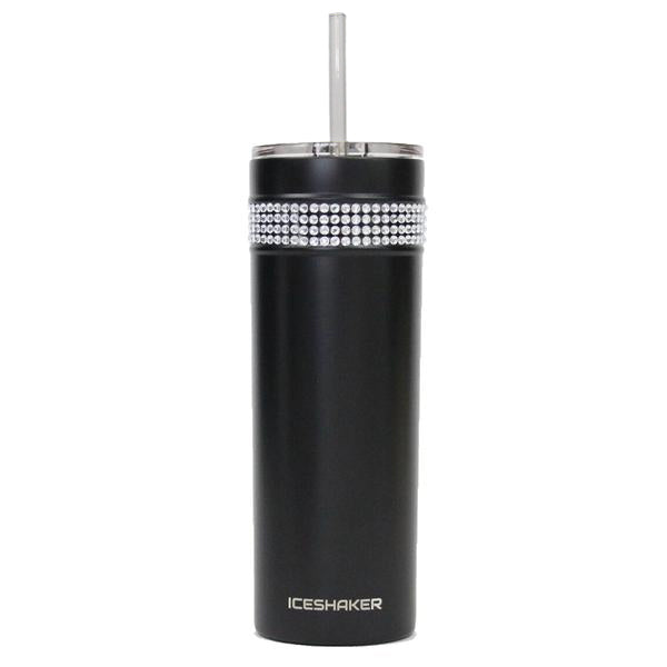 Cosmetic Imperfections - 20oz Skinny Black Bling Tumbler