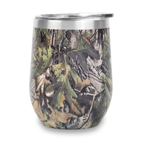 12oz Stemless Wine Tumbler - Camo