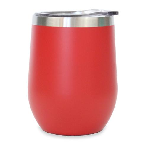 12oz Stemless Wine Tumbler - Red