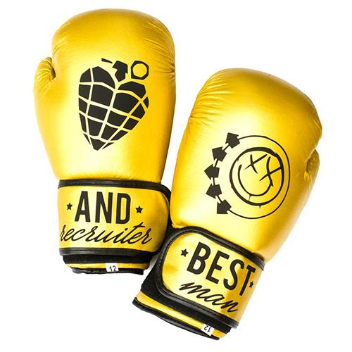 How are boxing gloves made?
