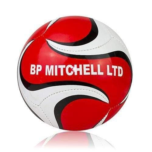 Footballs Designed for BP Mitchell