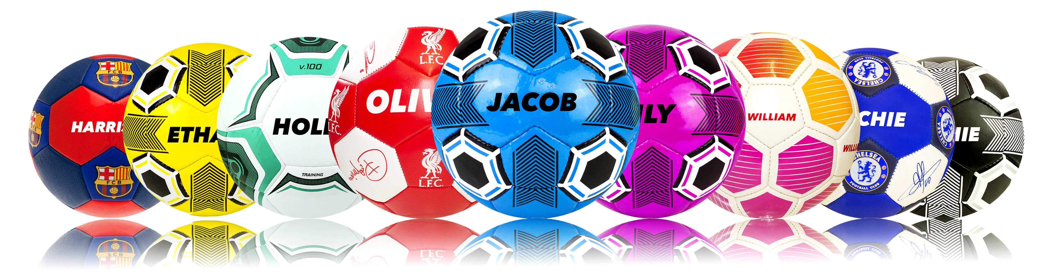 b9f192064a2 Personalised Footballs - Printed footballs with names! Football Gifts