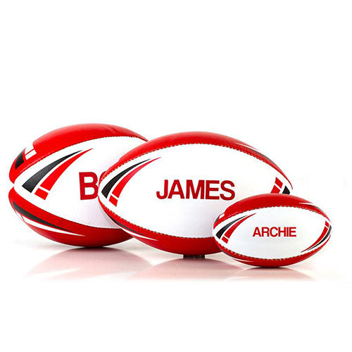 Personalised Rugby Balls