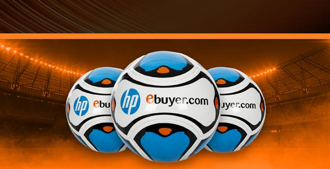 Promotional Football - HP Ebuyer