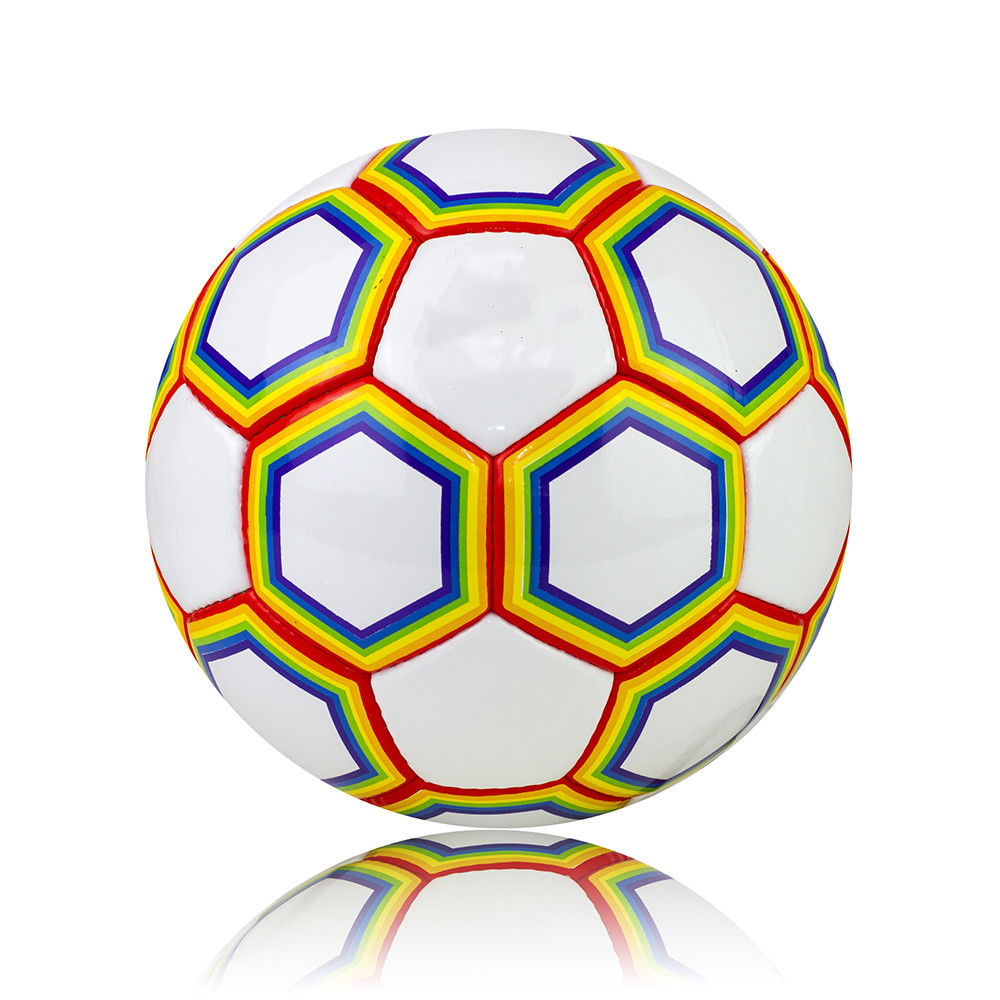 Rainbow Football Ball - Size 5