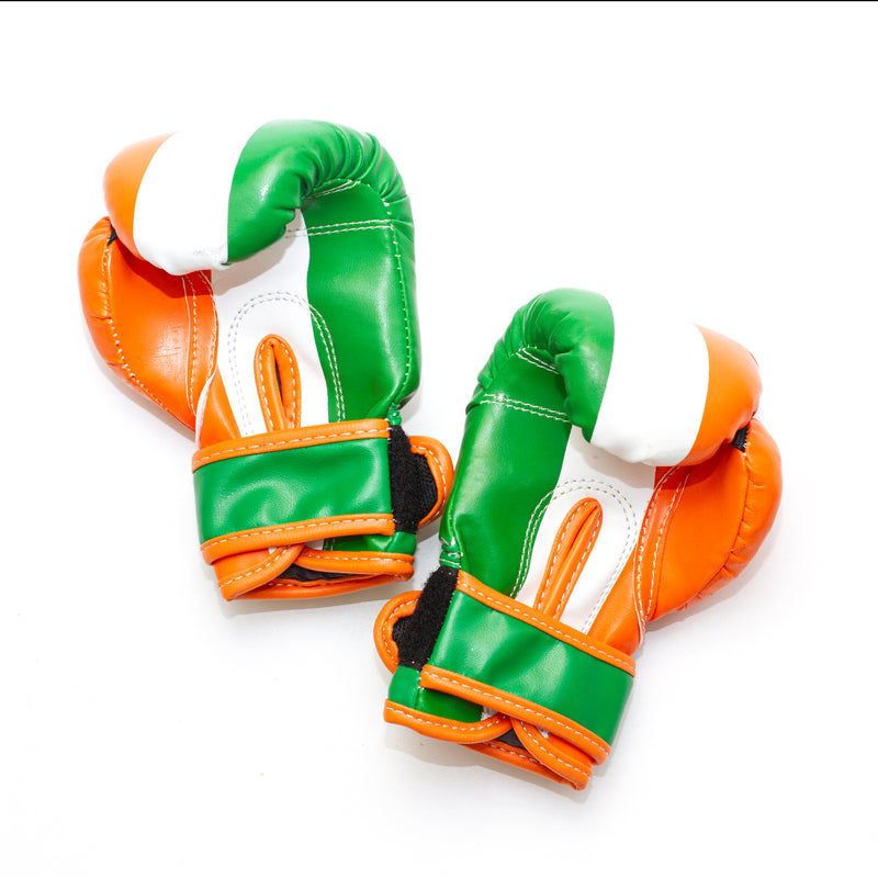 Personalised Kids Boxing Gloves - Irish Flag