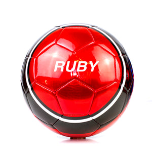 Personalised Football - HyPro V2 Red
