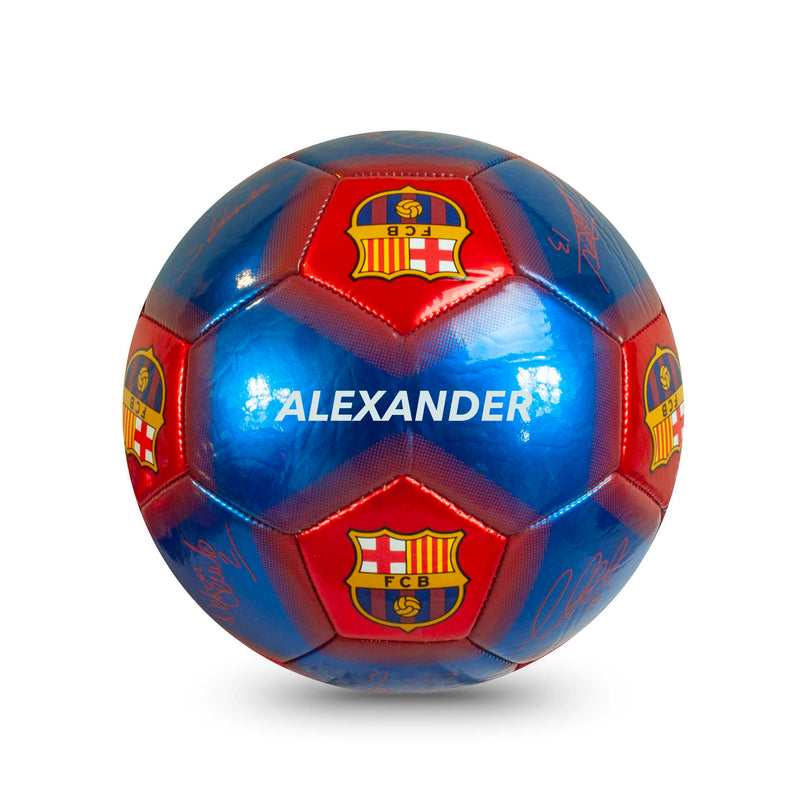 Personalised Barcelona Football Ball - Size 5
