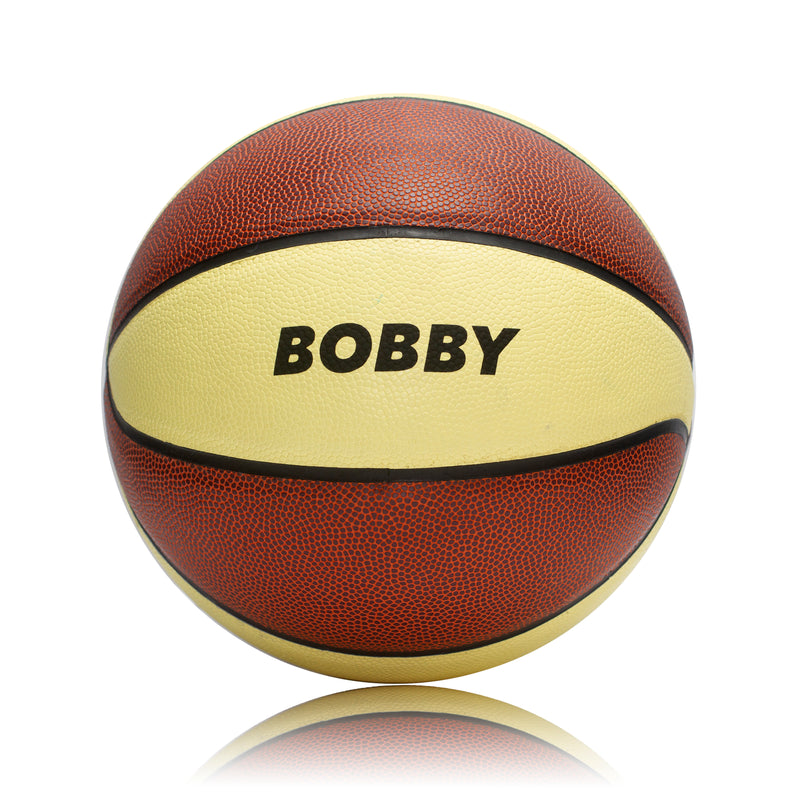 Personalised Basketball Ball - Size 7 Tan/Cream