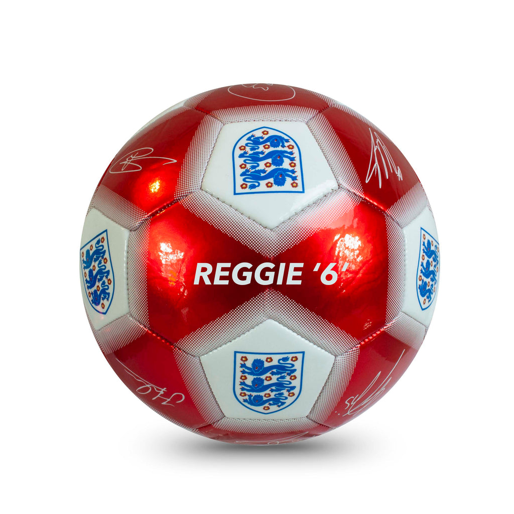 Personalised England Football Ball - Size 5