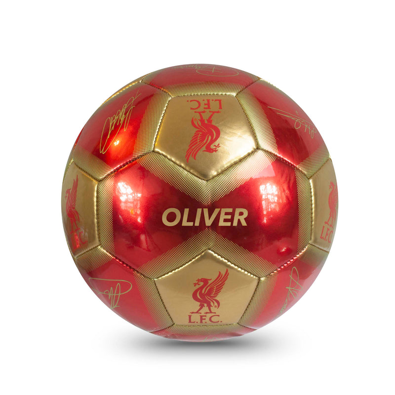 Personalised Liverpool Football Ball - Size 5