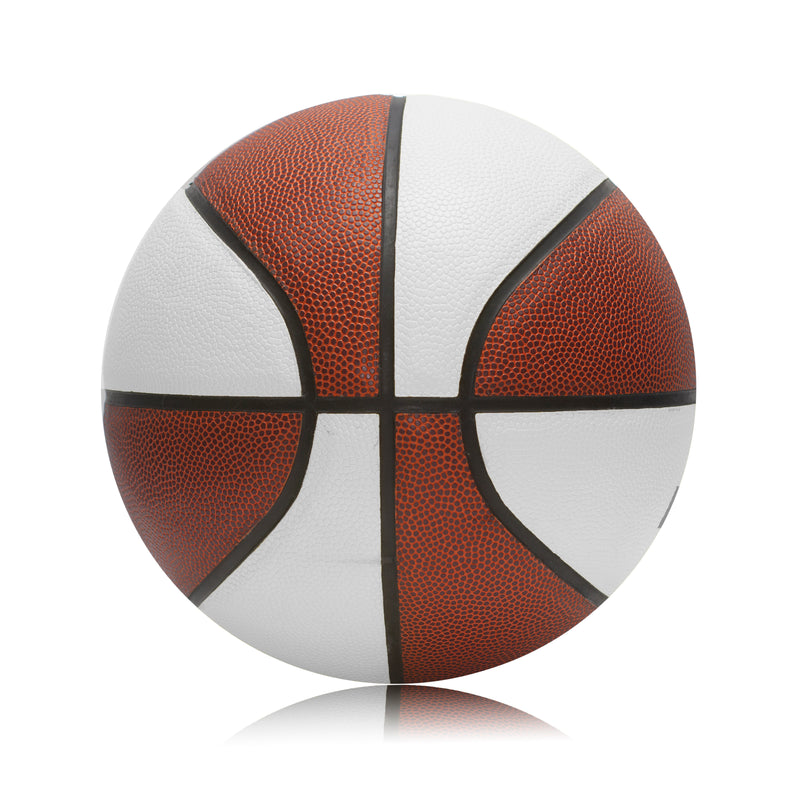 Personalised Basketball Ball - Size 7 Tan/White