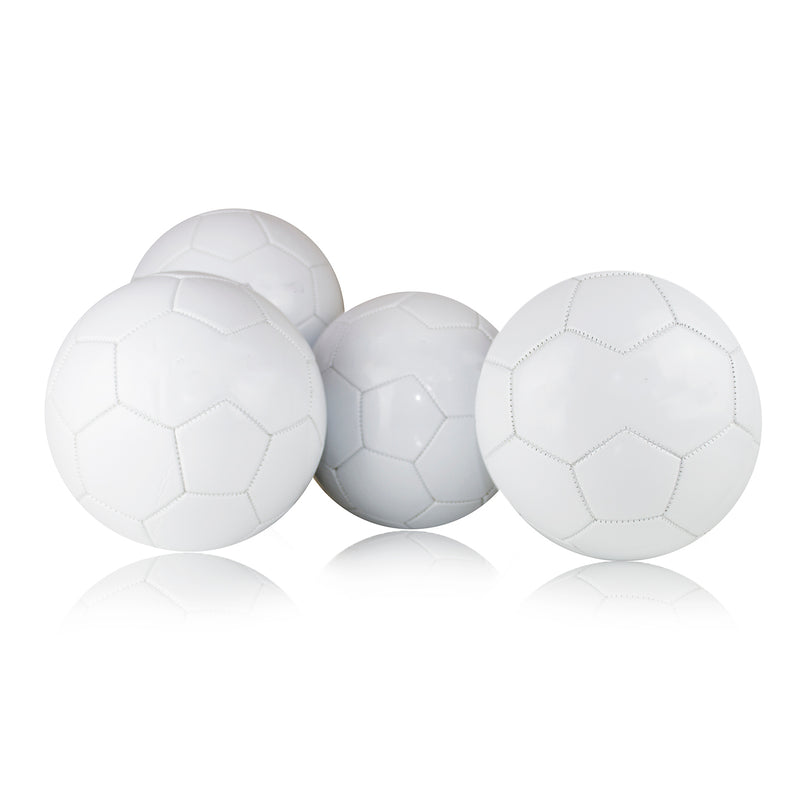 30 Panel Plain White Football - Size 5