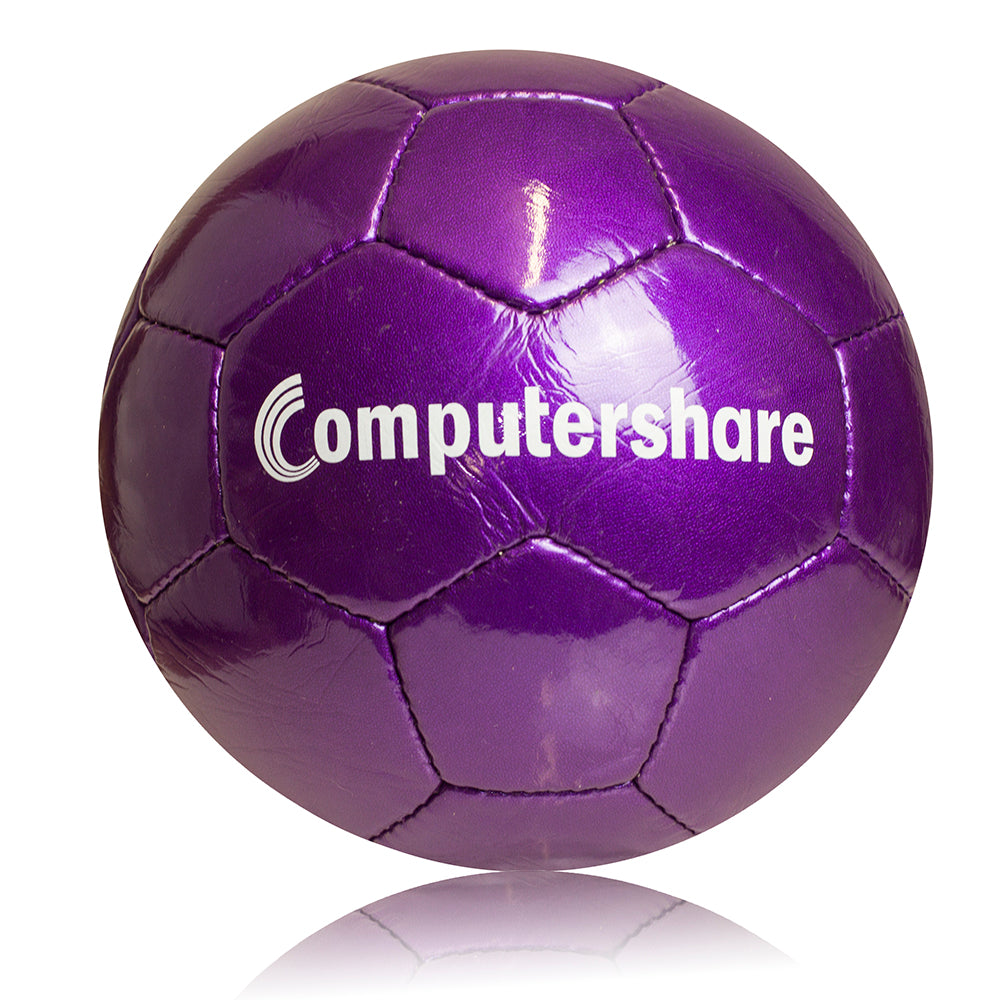 Standard Metallic Promotional Football - 30 Panel