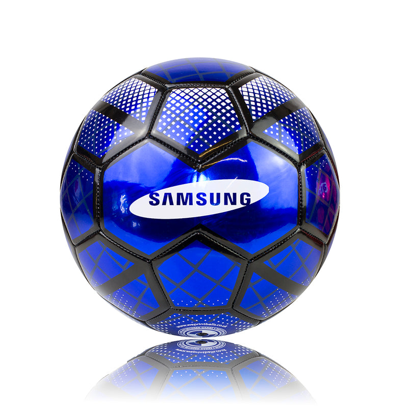 Premium Metallic Promotional Football - 30 Panel