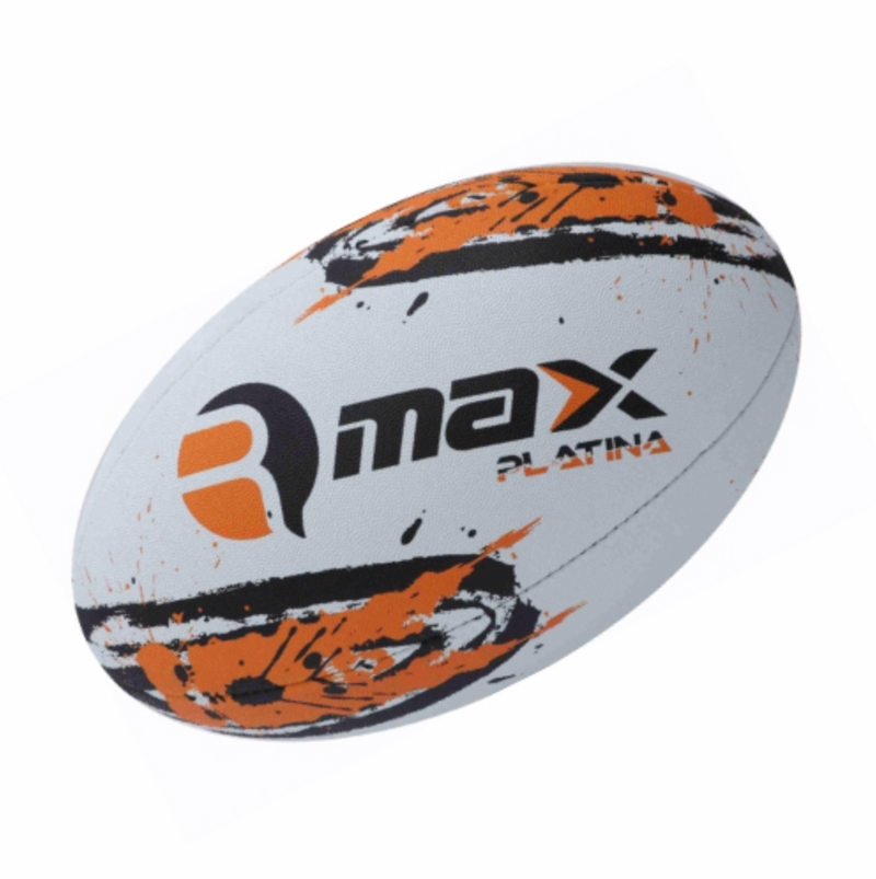 Custom Rugby Ball - Platina