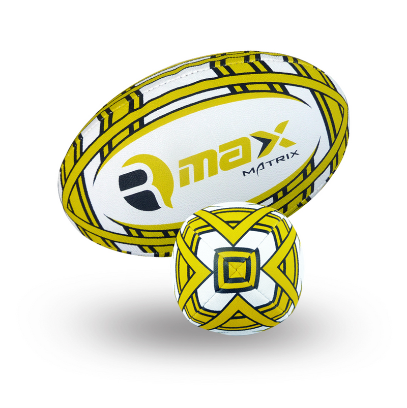 Custom Rugby Ball - Matrix