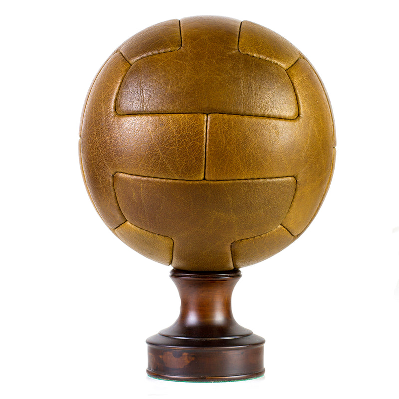 Vintage Leather Soccer Ball T-Panel