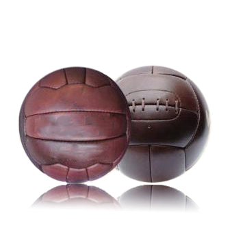 Vintage Football Ball - Dark Tan