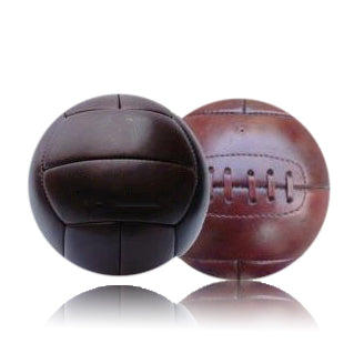 Vintage Football Ball - High Polish