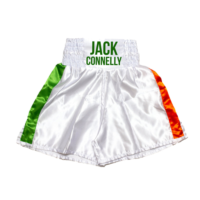 Personalised Boxing Shorts - Ireland Flag Kids