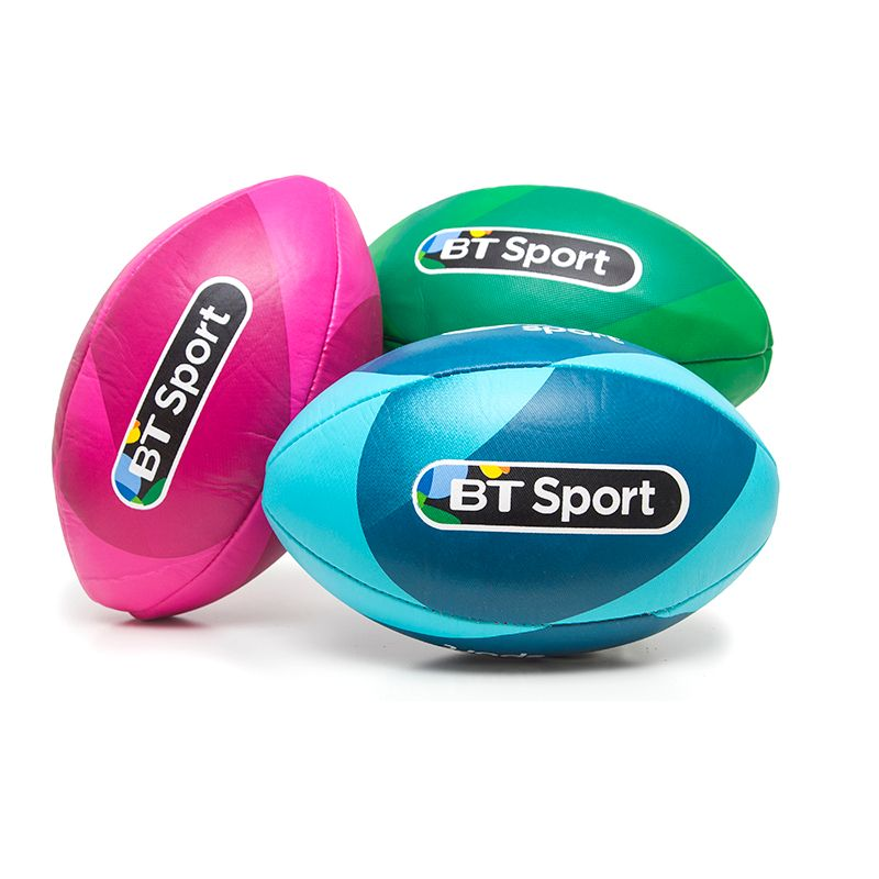 Promotional Rugby Balls - BT SPORT