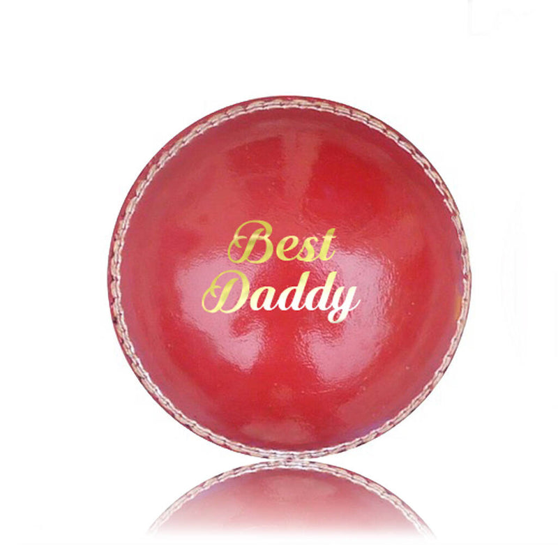 'Best Daddy' Personalised Cricket Ball