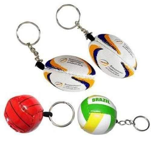 Personalised Promotional Football & Rugby Keyrings