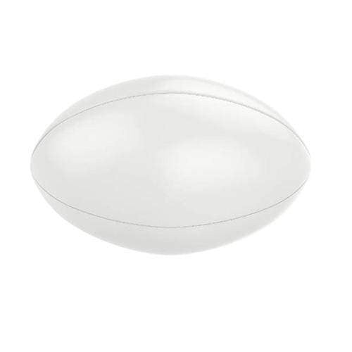 Plain White Rugby Ball - Size 5 - Plain Ball