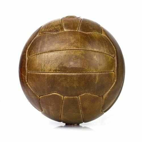 Vintage Leather Soccer Ball - Football