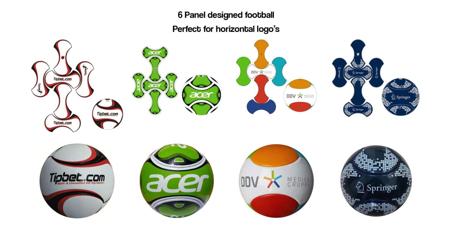 custom printed promotional footballs