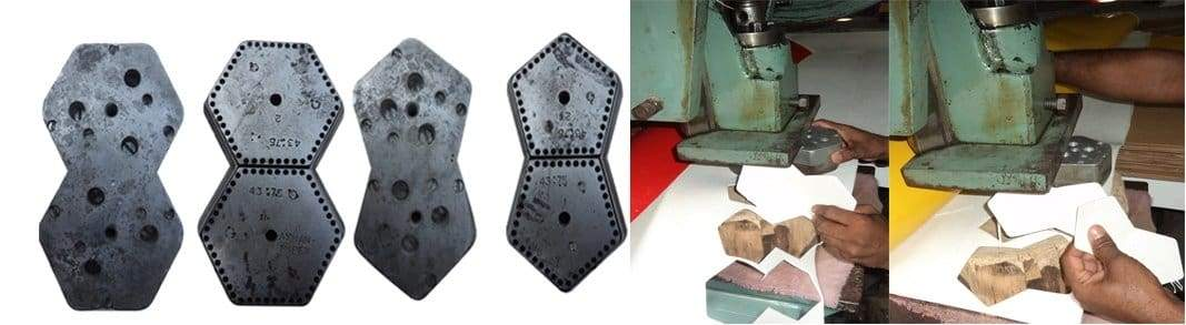 cutting dies football production