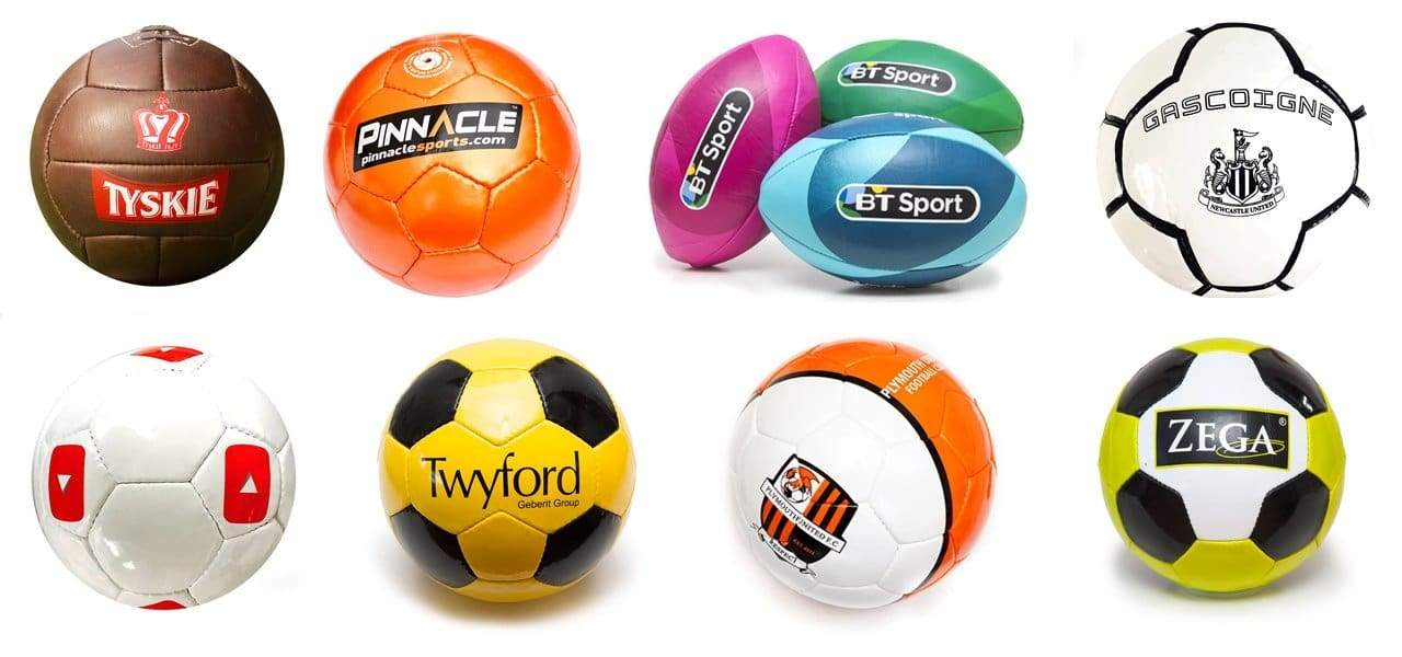 printed promotional footballs