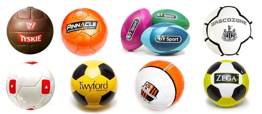 custom designed promotional footballs