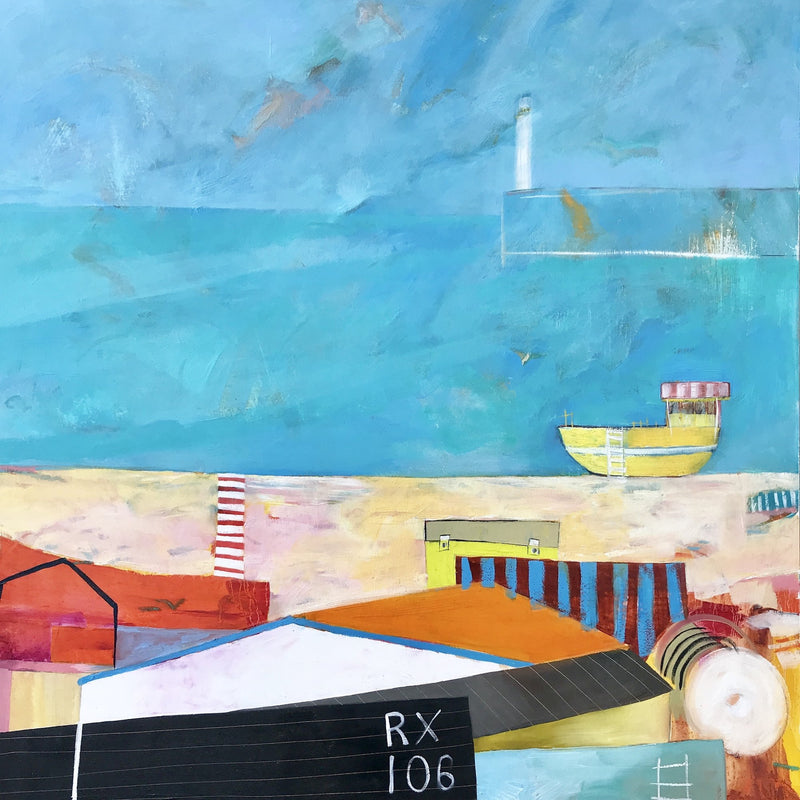 Kathryn Matthews introduces a new collection of paintings inspired by Hastings.