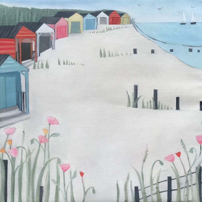 Katty McMurray introduces a new collection of paintings inspired by West Wittering.