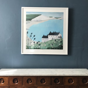 Coastguard Cottages edition print
