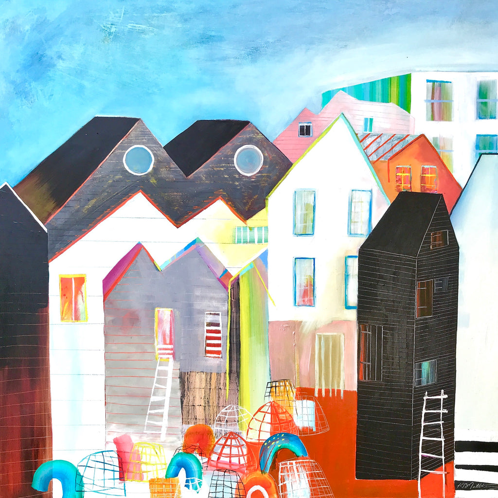 Hastings Sussex contemporary landscape painting