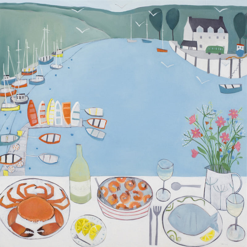 A Splendid Lunch At The Anchor Stone Cafe Giclee Print