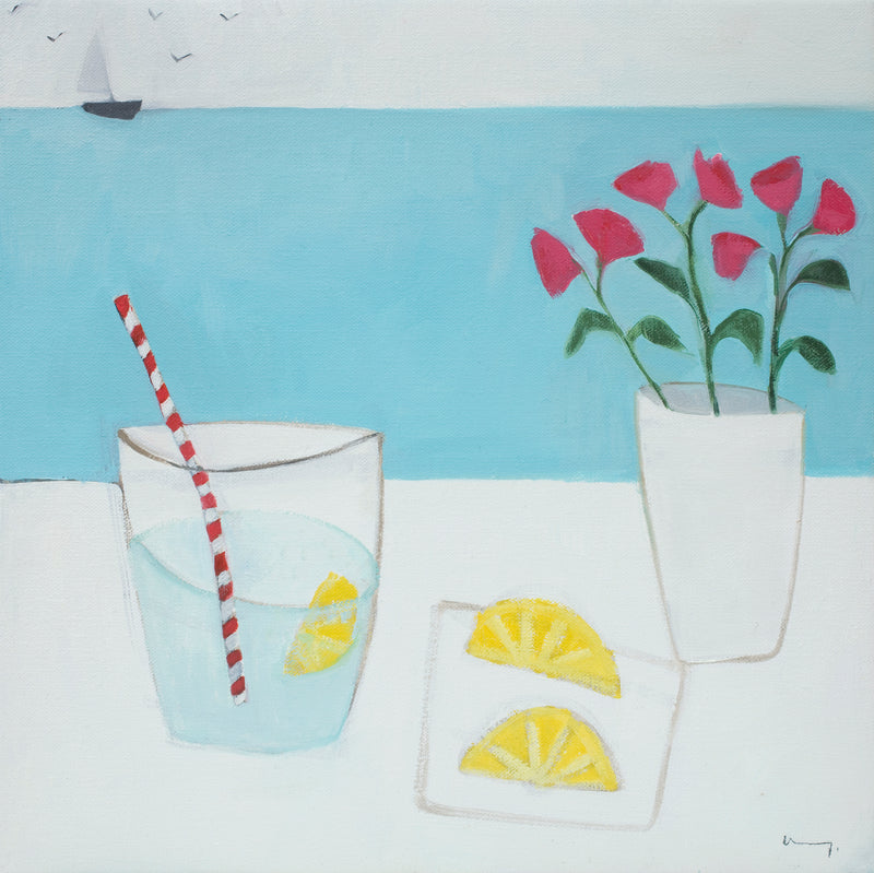 Lemonade and Flowers