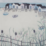 Outside the Sportsman, Seasalter, Giclee Print
