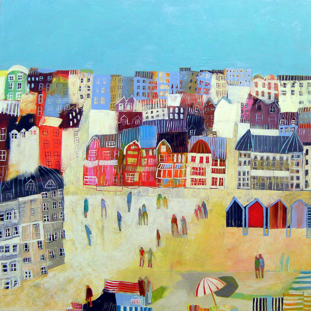 The Loveliest House in Hove Oil Painting