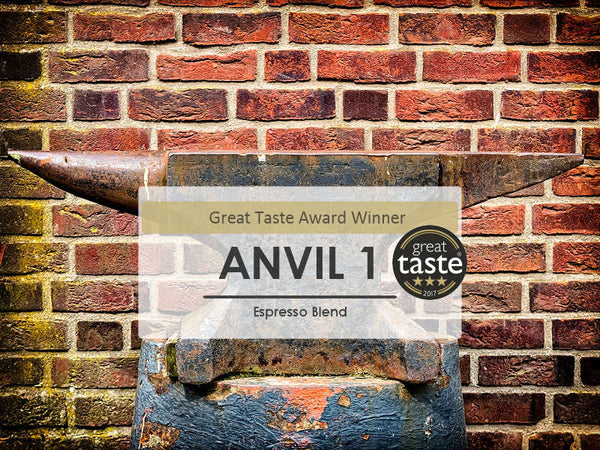 ANVIL 3 Star Great Taste Award Winning Hand Roasted Coffee