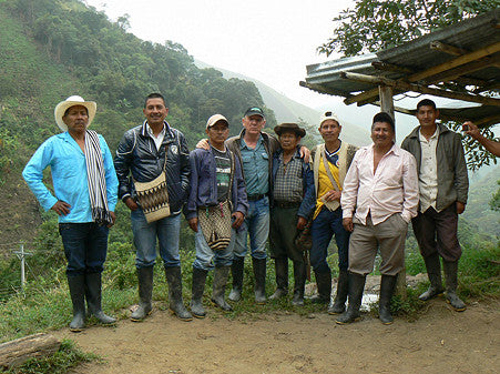 Colombian Direct Trade Coffee Beans Micro Lot San Pedro growers team